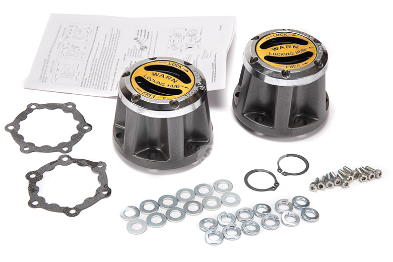 Scout II Warn Locking Hubs
