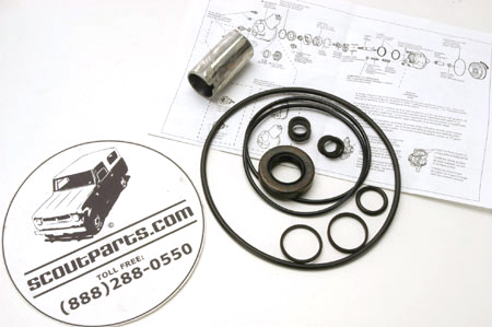 Scout II, Scout 800 Power Steering Pump Rebuild Kit