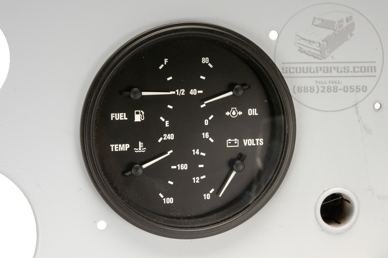 Scout 80 Replacement Gauge Kit - (1961-65)