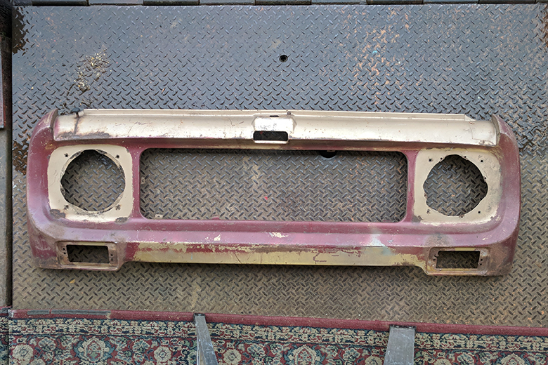Scout 80, Scout 800 Grill Front Clip Nose - Used Body Part