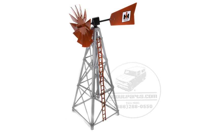 """Windmill,  """"IH"""" 17inches tall"""