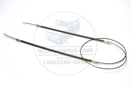 Scout 800 Rear Emergency Brake Cable (Parking Brake) 116""