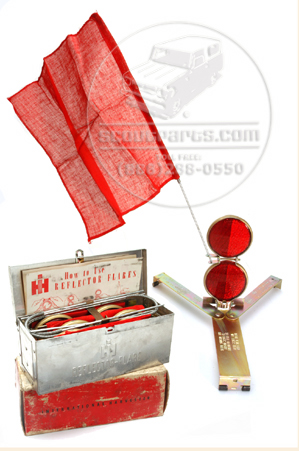 Scout II, Scout 80, Scout 800 Original IH  Road Side Flare Kit