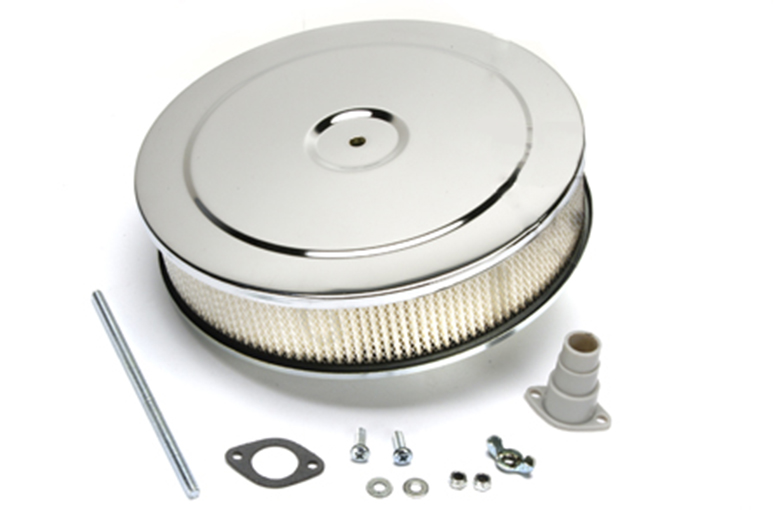 Scout II, Scout 800 Chrome Air Filter Assembly