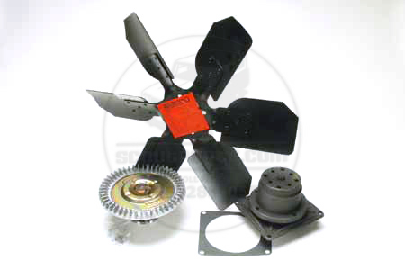 Cooling Kit - Water Pump Fan and Fan Clutch Included