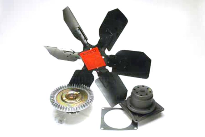 Scout II Cooling Kit - Water Pump Fan And Fan Clutch Included