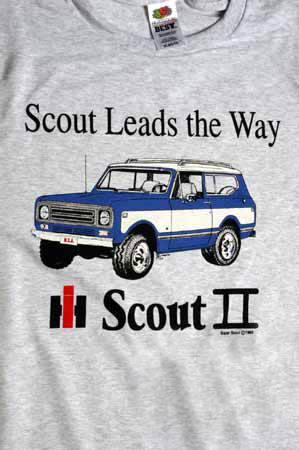 "IH  ""Scout Leads the Way"" T-Shirt"