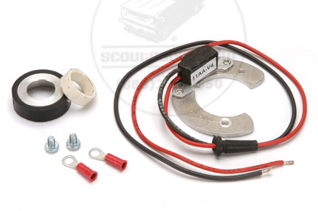 Scout 80, Scout 800 Pertronix Ignitor Kit (4 Cylinder 152ci, 196 Curved Points)