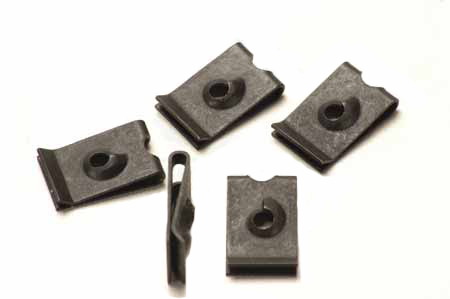 Scout II, Scout 80, Scout 800 Speed Nut,  U- Type, Square For #6, #8, #10