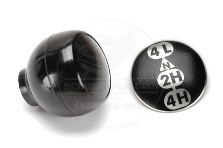 Transfer Case Shifter Knob & Decal