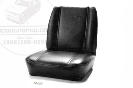 Classic Bucket Seat - Black Loback