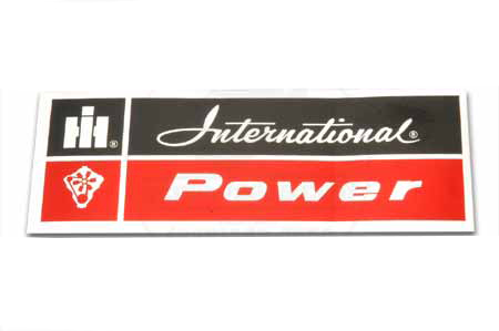 Scout II, Scout 80, Scout 800 International Power Decal (Red)