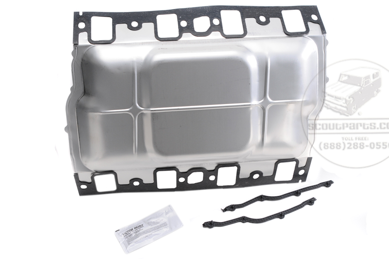 Intake Gasket for 392, 404 Engine with improved cooling