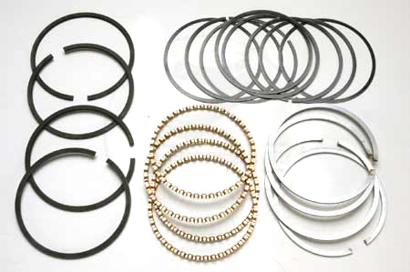 Scout II, Scout 800 4 Cyl Chrome Piston Ring Set