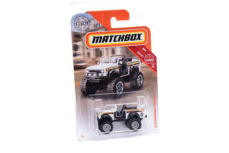 Scout II IH International 1976 Super Scout Matchbox Truck Toy