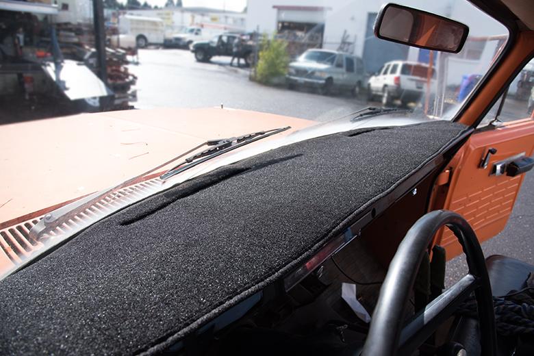 69-75 IH Pickup Dashboard Cover - Dash Mat