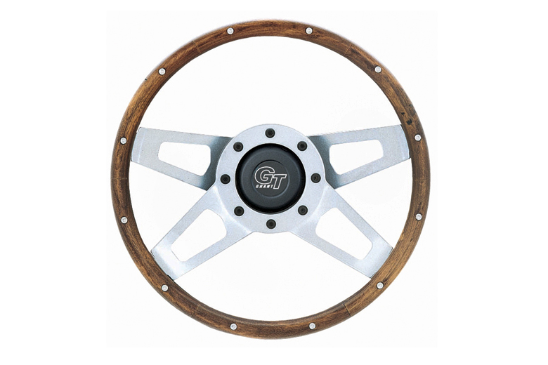 New Replacement Steering Wheel - Walnut