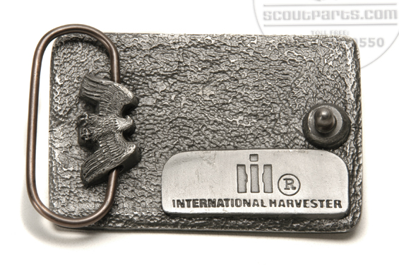 Belt Buckle International Scout Parts Scout Ii Parts