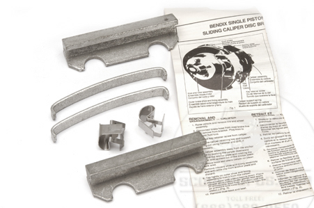 Brake Pad ShimsCaliper Repair Hardware