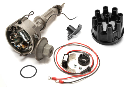 Scout II, Scout 800 Solid State Ignition Kit V8 - Includes Distributor