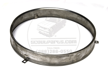 Headlight Lense Retaining Ring - New Old Stock