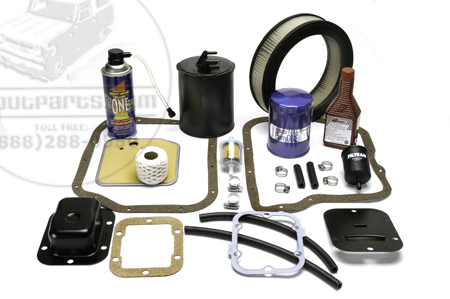Scout II Complete Filter Kit