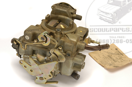 Scout II Carburetor  Rebuilt Holley 1940 196 CID- Customer Supplied Carb