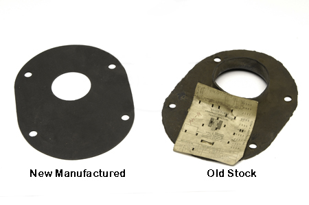 Steering Column To Firewall Seal With Round Corners -  61-75