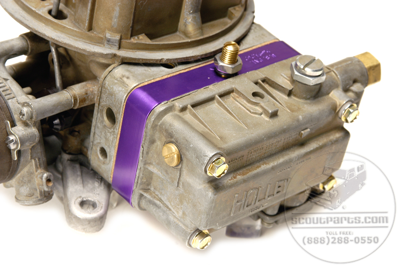 Scout II Metering Block For V8 Carburetors
