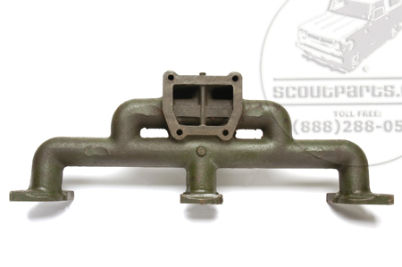 Intake Mainfold, Green Diamond Up-draft extremely rare new old stock.
