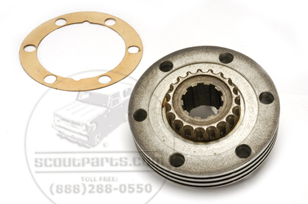 Hub bearing plate for early scout