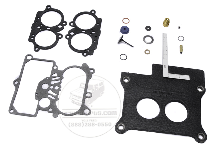 Scout II Carburetor Rebuild Kit Holley 2210, 2245 models