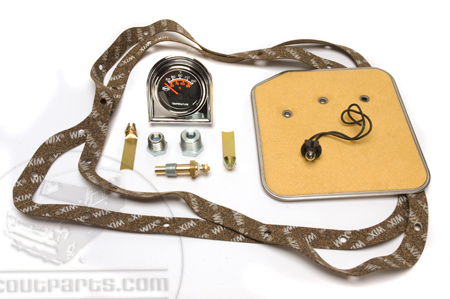 Scout II, Scout 800 Transmission Monitoring Kit