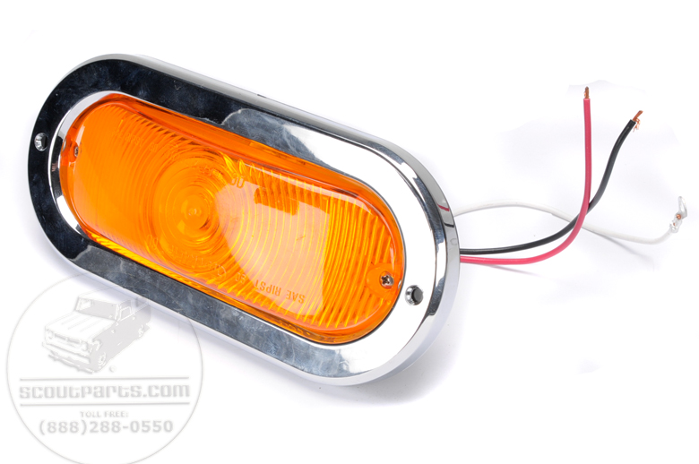 Front Marker Parking Light Assembly - AFTERMARKET