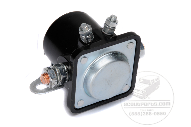 Scout II, Scout 800 Winch Solenoid 12 volt
