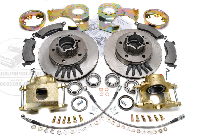 Disc Brake Conversion Kit - Front 4x4