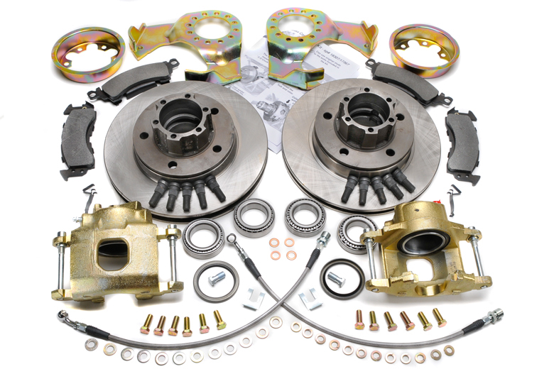 Scout II Disc Brake Conversion Kit - Front 4x4, 4x2
