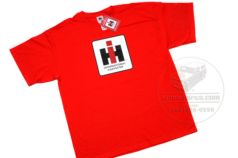 Red International Harvester - T-shirts