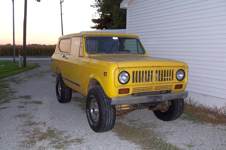 1973 scout II 345