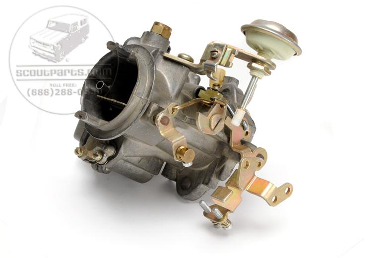 Scout II, Scout 800 Carburetor (4 Cylinder 196 Cid) Rebuilt