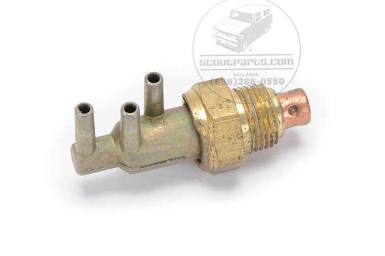 Gold Vacuum Manifold Switch
