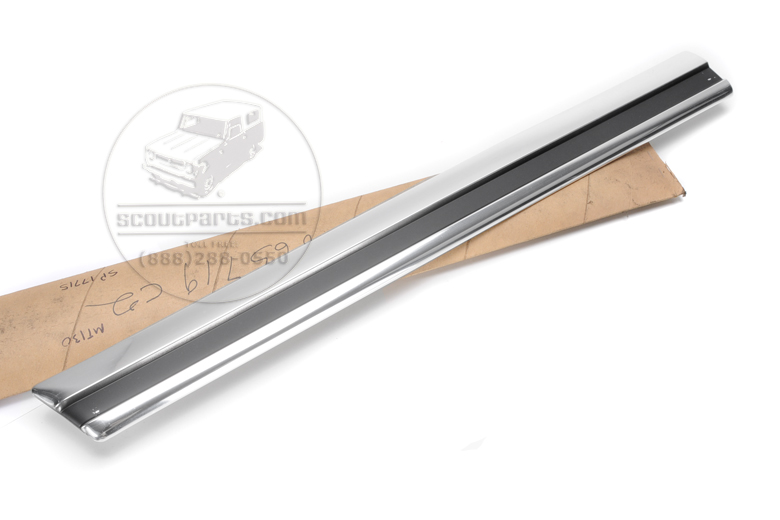 Trim Moulding Right Quarter panel  118