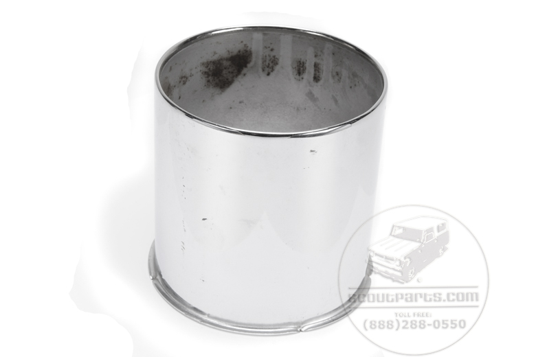 Scout II, Scout 80, Scout 800, Travelall, Travelette, Pickup, Scout II Diesel - Chrome Hub cover