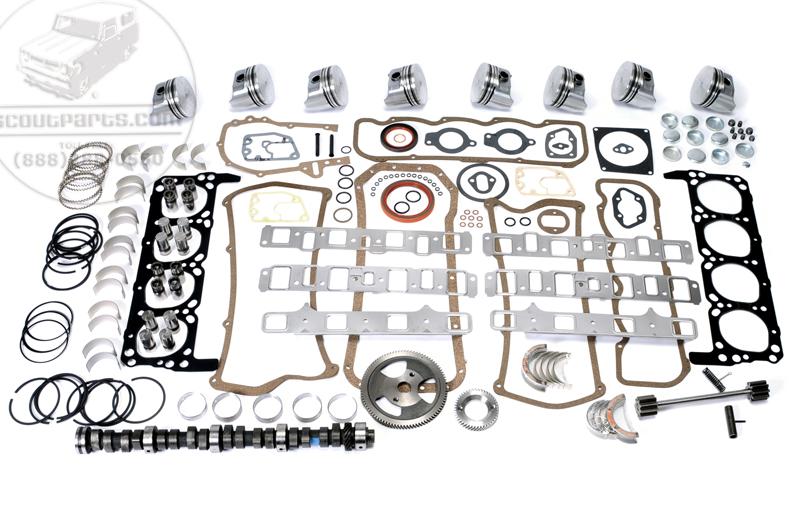 Engine Rebuild Kit - 345 (V8)