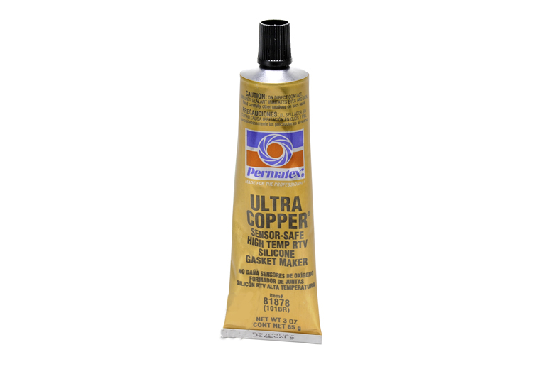 "Permatex ""Ultra Copper"" sensor safe, high temp RTV, silicone gasket maker"