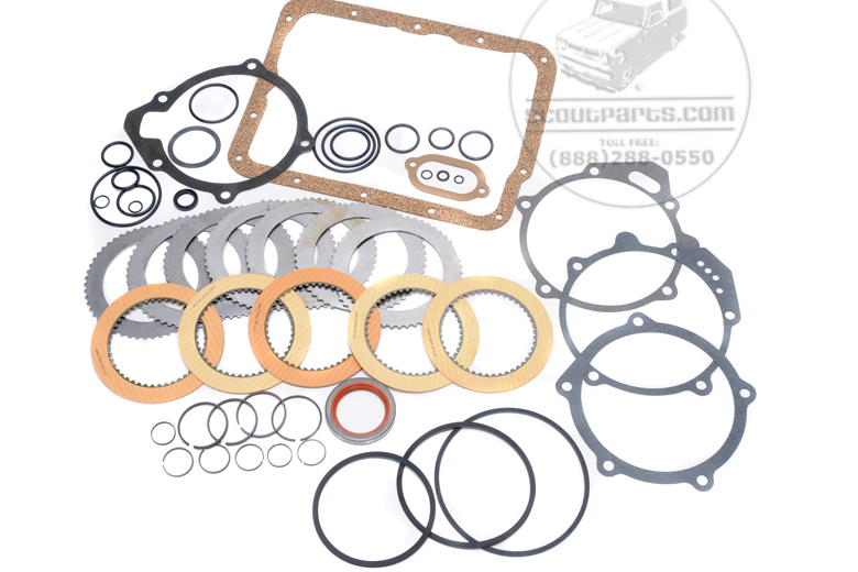 Scout 800 T-39 Automatic Transmission Rebuild Kit. - 1968 Borg Warner Transmission.