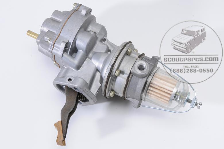 Scout 80, Scout 800 Fuel pump for 6 cylinder IH engines Rebuilt