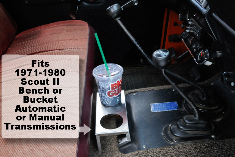 Scout II, Scout 80, Scout 800 Cup Holder - Stainless Steel Drink Holder