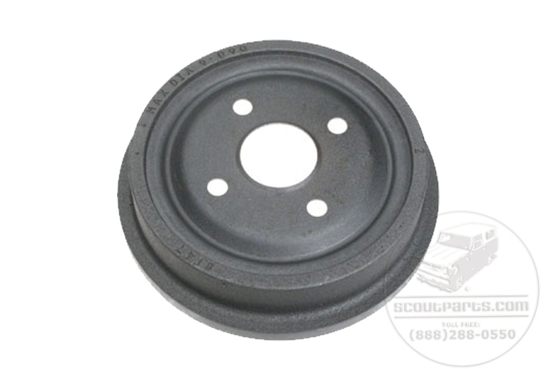 Scout 80 Brake Drum  - New  for early 2 wheel drive scout 80