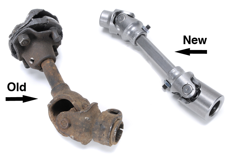 Steering Shaft - Upper and lower